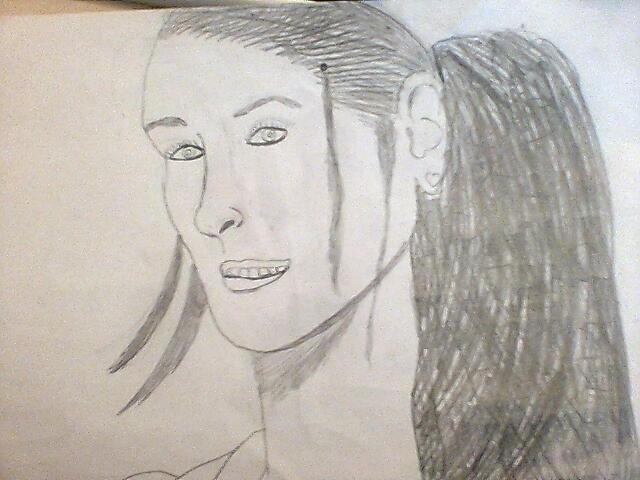 Ceci est un dessin de mon actrice préférée
